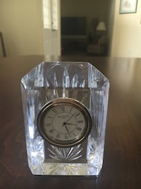 WATERFORD CRYSTAL COLONNADE CLOCK, Christmas gift! Orlando, 32812