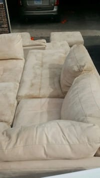 3 piece sectional / Sofa with 2 ottomans Minneapolis
