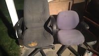 2 crummy but usable office chairs 5$ for both! Sandy, 84094