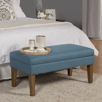 **BRAND NEW** Teal North Andover Decorative Storage Bench by Charlton Home Mississauga