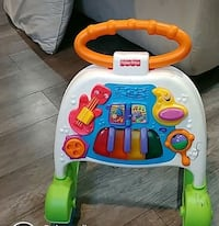 baby's white and red activity walker London, N6H 0B2