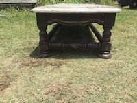 brown and black wooden bench Pottsboro, 75076