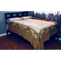 brown wooden bed frame and mattress Bell Gardens, 90201