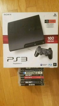 PS3 and games Alexandria