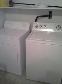Washer and dryer  Longueuil, J4V 2G9
