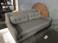 gray fabric 2-seat sofa Kansas City, 64127