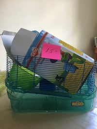 green and blue pet cage Bayville, 08721
