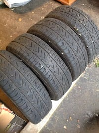 4 All season tires with steel drum New Westminster, V3L 4W2
