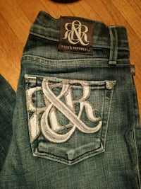 blue Rock Revival denim bottoms Edmonton, T5L 0K9