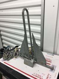Boat anchor 10 lbs Good Condition $50 obo or trade
