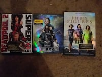 Blu Ray, Reg Dvd and Digital Copies Des Moines, 50313