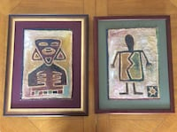 two assorted tribal paintings 2853 km