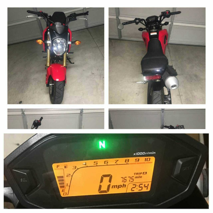 2014 Honda Grom 125 PGM-FI fuel injection - City Ranch