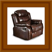 Burgundy recliner chair Prince George's County