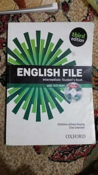 Orjinal english file kitabı 8634 km