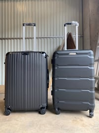 Black Hardcover Luggage Suitcases
