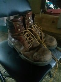 Steel toe work boots Springfield Township