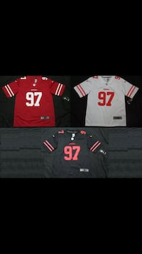 Nick Bosa San Francisco 49ers Jerseys All Sizes