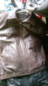 black leather zippered jacket Hagerstown, 21740