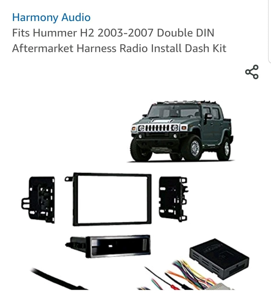 Hummer H2 Wiring Harnes