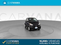 2015 smart fortwo coupe Pure Hatchback Coupe 2D Black