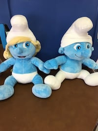 Girl and Boy Smurf. Excellent condition  2284 mi
