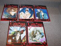 The Cain Saga Series MANGA by Kaori Yuki Collection Vaughan
