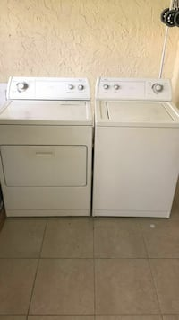 white washer and dryer set Fort Lauderdale