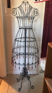 Vintage Wire Dress Mannequin  Campbell, 95008