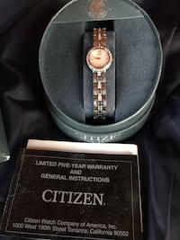 Citizens Eco Drive women watch, classy, elegant, never need to change a battery for life! I loved it. I got iWatch. So sell it. Londonderry, 03053