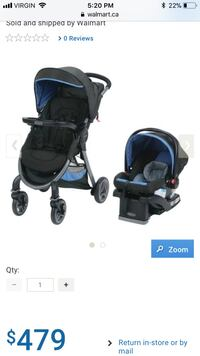 Graco FastAction 2.0 travel system