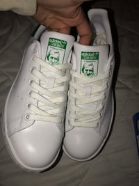 Brand new white adidas Stan smiths low top sneakers Glens Falls, 12801