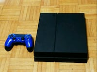 black Sony PS4 console with controller Toronto, M1P 2S5