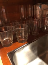 Various scotch and champagne glasses Toronto, M6P 2L7