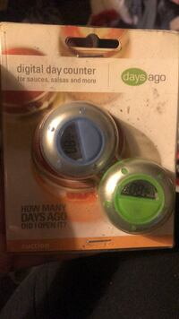 Digital day counter, new in box.