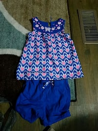 2 piece girls outfit 4t Brooks, 40109