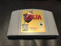 Legend of Zelda: Ocarina of Time N64 Game Cartridge (Nintendo 64, 1998)