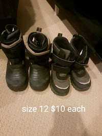 toddler's three pairs of shoes Edmonton, T6W