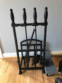 Pottery barn fireplace equipment set 70% off!!! 43 mi