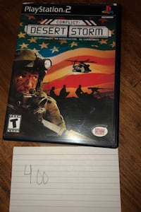 Play station game desert storm Pasadena, 21122