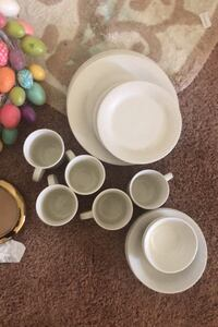 Dinner plates and mugs