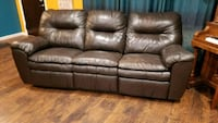 Leather couch Renton, 98059
