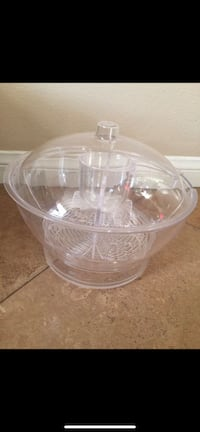 Serving bowl with ice chamber, cold bowl on ice Laguna Niguel, 92677