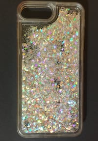 Silver Holographic Glitter iPhone 6s/7 Case San Antonio