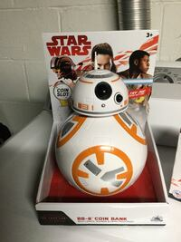 Bb8 light up coin bank Star Wars  West Allis, 53227