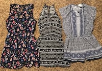 Junior Dress & Romper Lot Size XS/S - 3 pc. - 83rd & K7, XP Lenexa, 66227