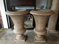 2 beautiful 3 foot decorative urns was $750 now each - $75 Mc Lean, 22101