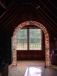 Arch with white lights (8ft h x 6ft wide) Jackson, 08527