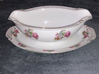 Gravy boat w/attached under plate Japanese asahi china Colorado Springs, 80910