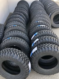 35x12.5R17 MUD TIRES  Burnaby, V3N 4T7